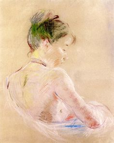 Berthe Morisot - Girl with Bare Shoulders