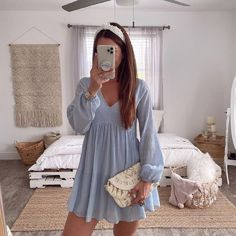 Limitless Ideas And Inspiration That You Can Copy When Using Dresses Cute Casual Outfits, Girly Outfits, Mode Outfits, Cute Summer Outfits, Fashion Outfits, Preppy Casual, Fall Outfits, Casual Summer, Summer Clothes