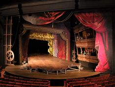 Wonderful set for Jeffrey Hatcher's Compleat Female Stage Beauty