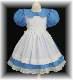 Alice In Wonderland Dress Pattern Toddler