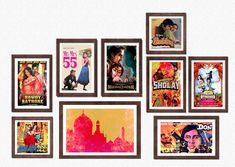 1fe9145554a0 Add a splash of color to your wall with our Bollywood wall frames Bollywood  Photos