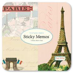 Vintage Paris Love Images Theme Filofax Office Supplies