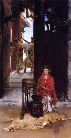 The Way to the Temple - Sir Lawrence Alma-Tadema