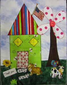 The House Quilt Project: Paint the Town Red