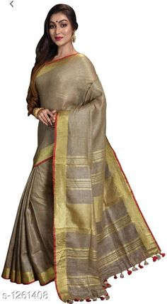f0705fa11df61 Multicoloured Checked Art Silk Saree with Blouse piece