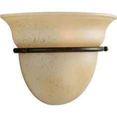 Progress Lighting Torino Collection 1-Light Forged Bronze Wall Sconce-P7181-77 at The Home Depot