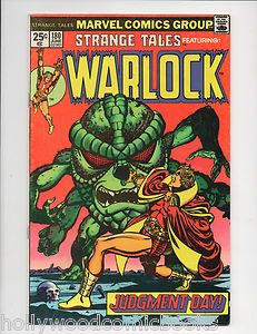 Strange Tales #180 1st Appearance Gamora Guardians of the Galaxy Key Bronze Age Marvel Comic Book.