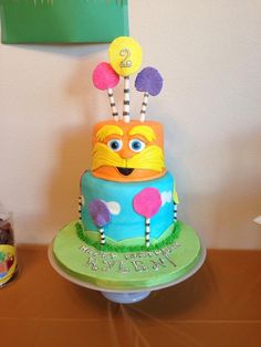 Lorax cake :)