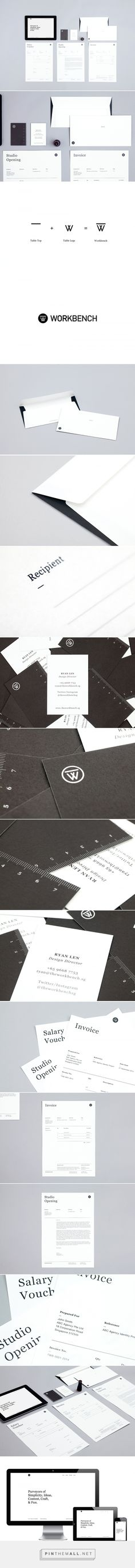 The Workbench on Behance - created via http://pinthemall.net
