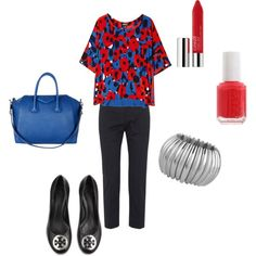 cute casual work outfit, created by lildill26 on Polyvore