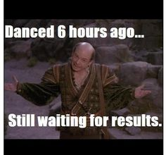 Irish Dance - results came quick but I had to share this when I read it!