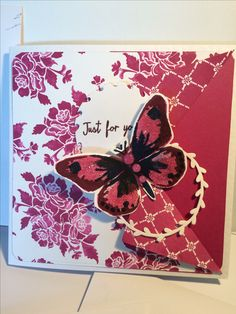 Berry Burst Watercolour Wings with Fresh Floral DSP