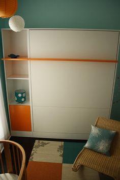 color scheme, white orange teal