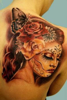 Tattoo Artist - Moni Marino - Woman tattoo