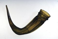 drinking-horn Early Anglo-Saxon  Date 7thC Findspot: Dagenham(Europe,United Kingdom,England,Greater London,Barking and Dagenham) Rainham(Europe,United Kingdom,England,Greater London,Havering) Materials glass  Technique crimped Dimensions Length: 23 centimetres (straight line between tip and rim) Length: 30 centimetres (max) Diameter: 7.8 centimetres (rim) Thickness: 0.4 centimetres
