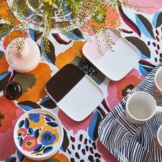 Marimekko Rosarium Dinnerware. Aino-Maija Metsola, designer.
