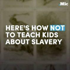 How not to teach our kids about slavery. #news #alternativenews