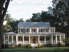 Dream house!! i love big porches