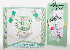 Zum Geburtstag tolle Geschenkssets mit Produkten aus dem Frühjahr- Sommerkatalog von Stampin'UP www.aigenmade.com