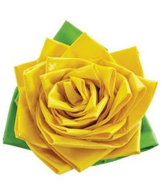 How to make a duct tape flower :)