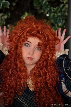 Princess Merida #DisneyGrandpa Ha ha I love her (;