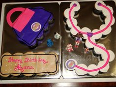Doc Mcstuffins cupcakes cake Happy 4th Birthday, Birthday Cake Girls, 4th Birthday Parties, 2nd Birthday, Birthday Ideas, Doc Mcstuffins Cupcakes, Doc Mcstuffins Birthday Party, Cupcake Party, Party Cakes