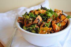 Sweet Potato Sesame Salad (MAKE!!!)