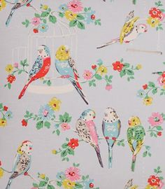 Wallpaper Vintage Wallpapers Cath Kidston 26 Ideas For 2019 Motifs Textiles, Textile Patterns, Surface Pattern Design, Pattern Art, Kitsch, Fabric Wallpaper, Cath Kidston Wallpaper, Bird Wallpaper, Motif Floral