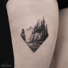 "1,006 Me gusta, 11 comentarios - Calvin (@grxsy) en Instagram: ""Stanley Park . . . . #tattoo #tattoos #tattoooftheday #tattooartist #art #torontotattoo #beautiful…"""