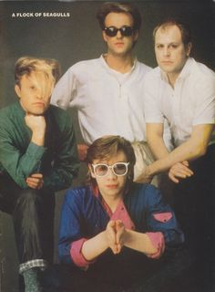 A Flock of Seagulls (I Love Space Age Love Song)