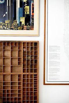 Shadow Box Of Knick Knack Storage