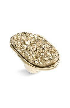 Free shipping and returns on Marcia Moran Oval Agate Drusy Oversized Ring at Nordstrom.com. A beautifully contoured ring sparkles with a textured metallic stone.