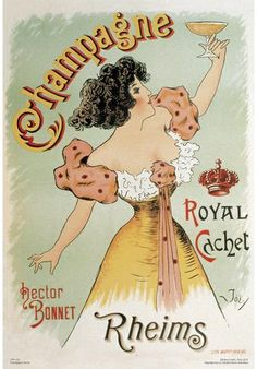 French Advertising Poster Champagne Rheims