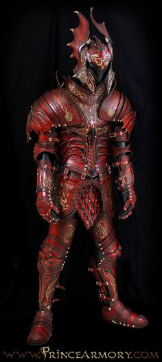 Flame Dragon Armor