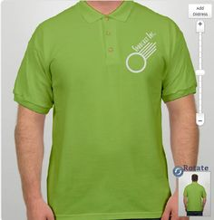 Like the bright lime for golf outings #corporateevents #golfplayers #customizedpolos
