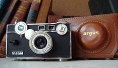 Vintage Argus C3 Camera -1950's. $35.00, via Etsy.