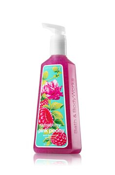 Raspberry Pink Peony Deep Cleansing Hand Soap - Anti-Bacterial - Bath & Body Works