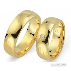#Trauringe #Eheringe Gold Gelbgold - CERA3520
