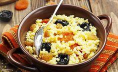 Warmes Hirse-Frühstück