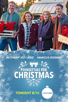 Bethany Joy Lenz heads home to help her family save Christmas. 🎄 ❄️ Watch Poinsettias For Christmas tonight at 8/7c on Lifetime.