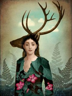 """Forest Warrior"" by Catrin Welz-Stein: Digital Artwork // Buy prints, posters, canvas and framed wall art directly from thousands of independent working artists at Imagekind.com."
