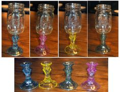 the story of redneck wine glasses | The Preppy Redneck Wine Glass UPGRADE for COLORED by preppylilart