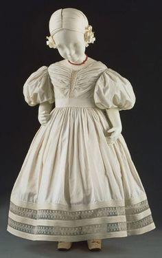Child's dress from 1830