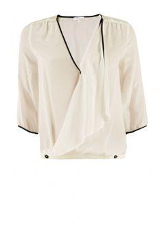 PUT IT IN NEUTRAL Patrizia Pepe | Silk blouse Lanza: http://www.littlesoho.com/patrizia-pepe-zijden-blouse-lanza-p-25562.html