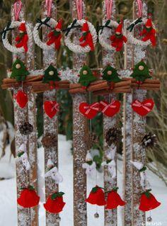 Viltcreaties Corina: Kerstslingers!