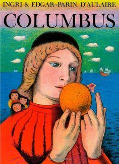 Columbus by Edgar Parin D'Aulaire http://www.amazon.com/dp/0964380331/ref=cm_sw_r_pi_dp_me8uvb0KBBY8E