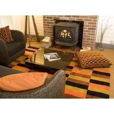 District Moquette Design Wool Rug