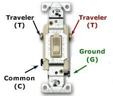 Way Switch Wiring Diagram DIY Pinterest - Three way switch what is
