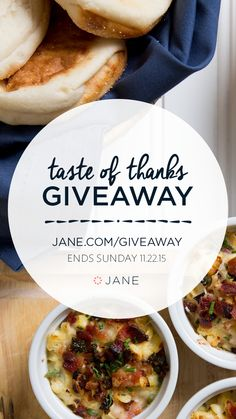 Jane.com Taste of Thanks #Giveaway - Enter our most delicious giveaway yet! $500 to Target + Anyone who enters this giveaway will be able to download exclusive recipes from Little Sous Chef and Oh So Delicioso! Enter to win some fabulous prizes!