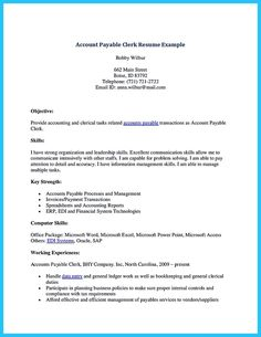 awesome best account payable resume sample collections check more at httpsnefci - Acting Resume Format